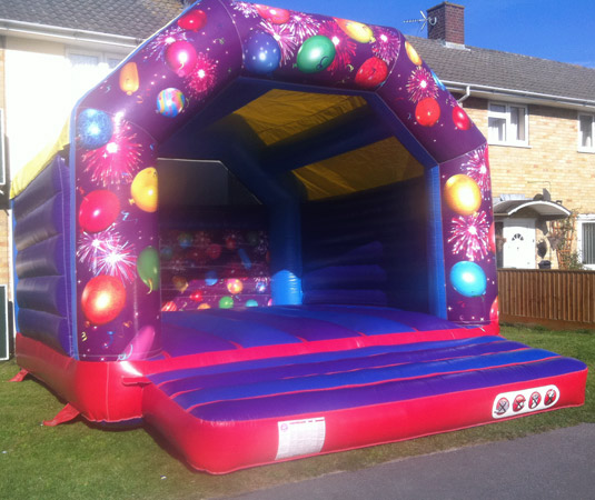 Celebrations bouncy castle