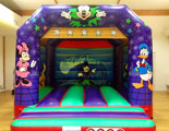 Mickey and Friends bouncy castle