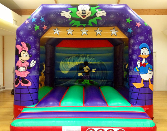 Mickey Mouse and Friends bouncy castle