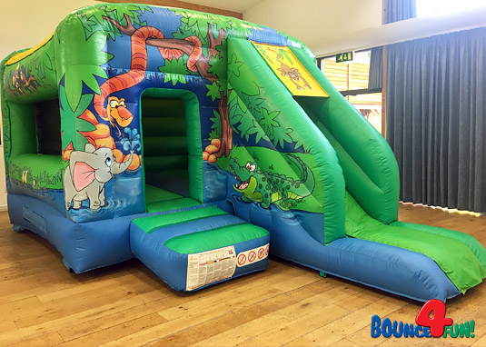 Jungle Bounce 'N' Slide