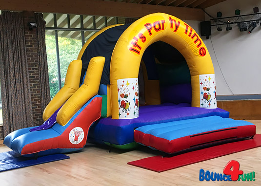 Party Time combi bouncy castle
