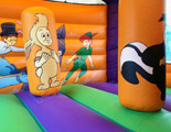 Peter's Pirate Adventure bouncy castle