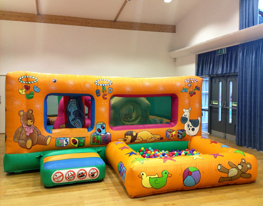 Tots play pen bouncy castle