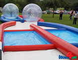 Criss Cross Zorb Ball Racing!